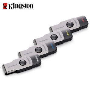 Kingston-16GB-32GB-64GB-DataTraveler-SWIVL-USB-3-1-capless-swivel-Thumb-Drive