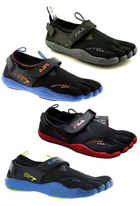 70f6c99185 NEW FILA SKELE-TOES EZ SLIDE DRAINAGE Running Water Boat Beach Shoes ...