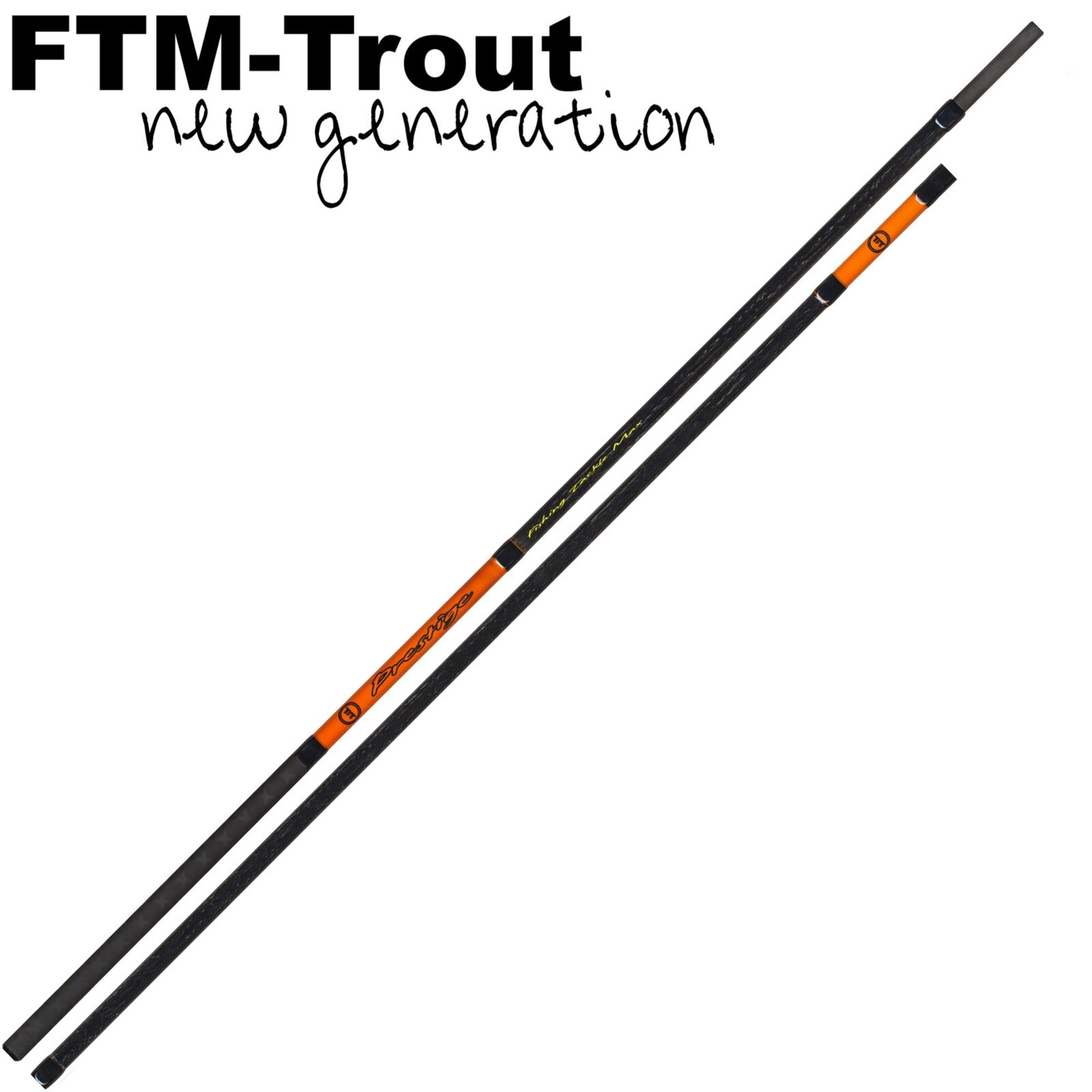 FTM Kescherstange Prestige 1,80m- Kescherstab, Keschergriff für Unterfangkescher