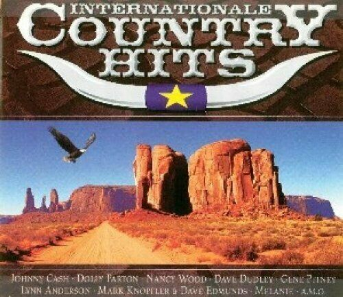Internationale Country Hits Dave Dudley, Lynn Anderson, Brenda Lee, Tim.. [3 CD]