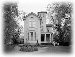 Victorian Italianate house tower porches romantic