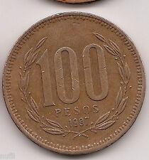 Chile 100 Pesos, 1997 KM# 226