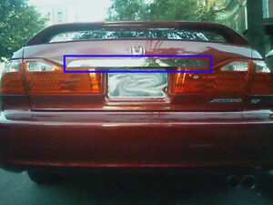 Image Is Loading For 98 02 Honda Accord Sedan Chrome Trunk