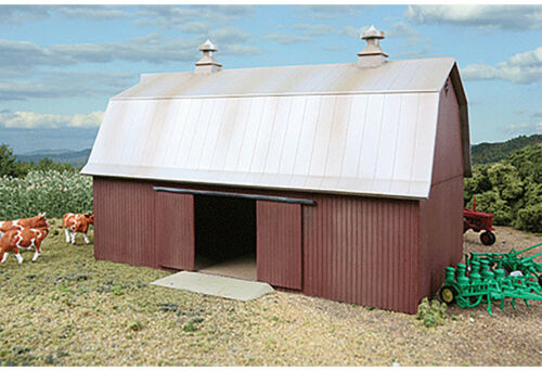 Walthers Cornerstone HO Scale Building//Structure Kit Meadowhead Barn//Farm Series