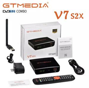 GTMEDIA V7S2X DVB-S2 Full HD 1080P abierto Τo-Aire Receptor Satelital + Usb Wi-Fi, EE. UU.