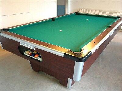 Tidssvarende Find Poolbord 6 Fod på DBA - køb og salg af nyt og brugt DW-42