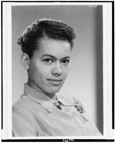 Pauli Murray,American civil rights activist,women/'s rights,lawyer,NAACP,c1940