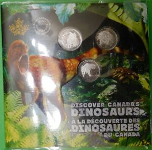 2019-Canada-Three-Dinosaurs-Quarters-Sealed-in-Collector-Card