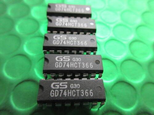 PC74HCT366P GD74HCT366N IC DIP16 driver linea ** 8 per ogni vendita ** £ 0.49ea