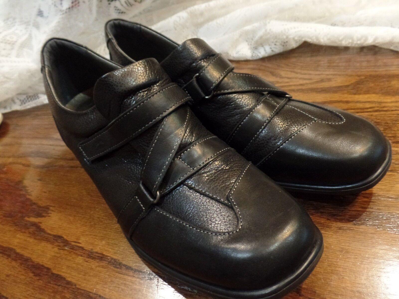 Spring Step Comodidad Zapatos Trabajo función de aire para para para mujer negro de cuero 42 9.5 Nuevo  orden en línea