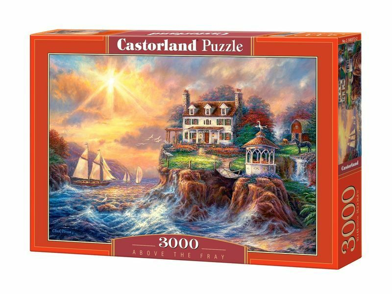 Castorland Puzzle 3000 Pieces - Above the Fray - 36  x 27  Sealed box C-300372
