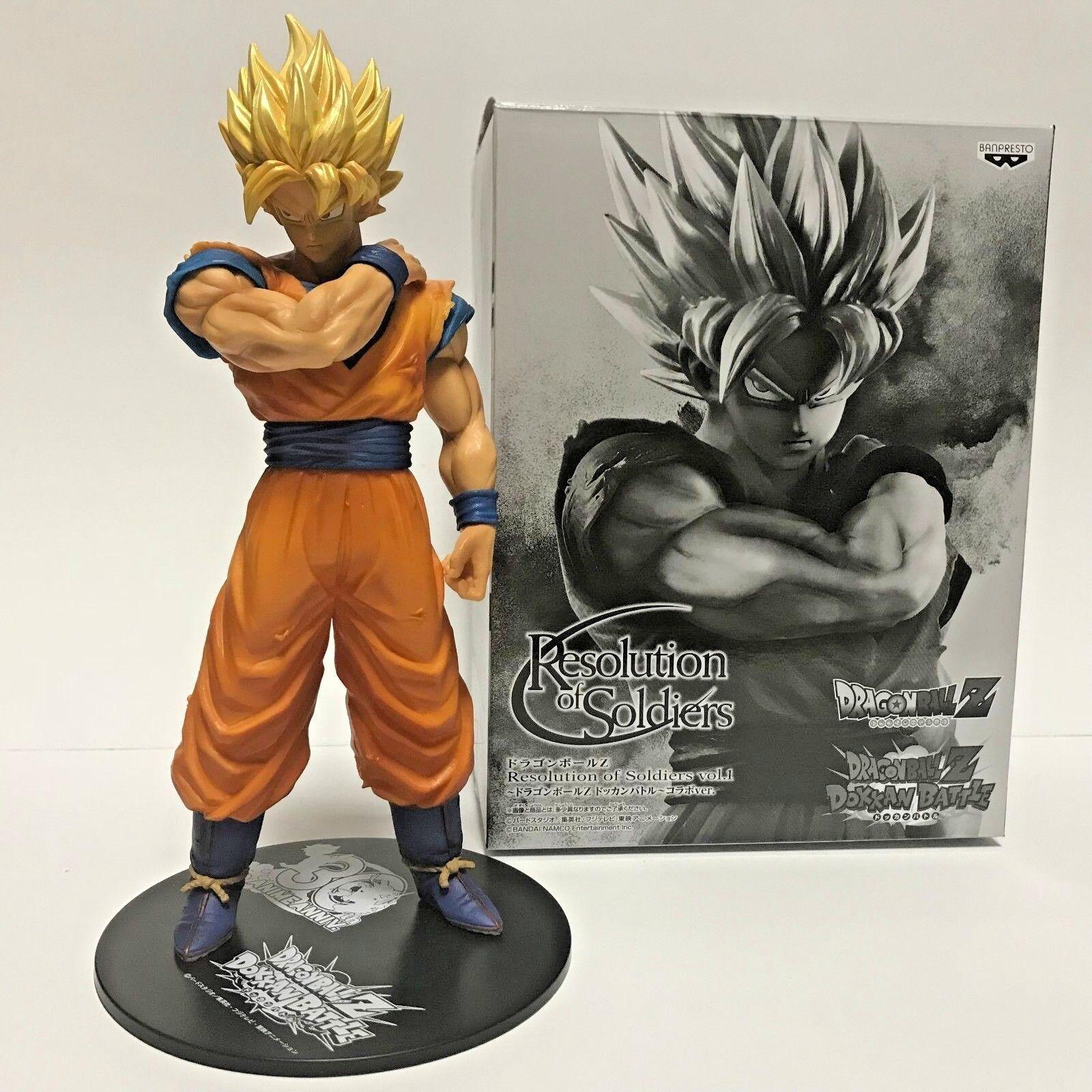 Dragon Ball Z SON GOKU Figure 'Dokkan Battle' Banpresto JAPAN 7777 limited rare