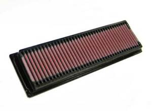 33-2725 K&N Replacement Air Filter PEUGEOT 106 1.3L; 1993-96 (KN Panel Replaceme