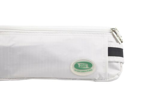 Hajj /& Umra-blanc anti-theft moyen taille sac /& ihram ceinture-argent passeport