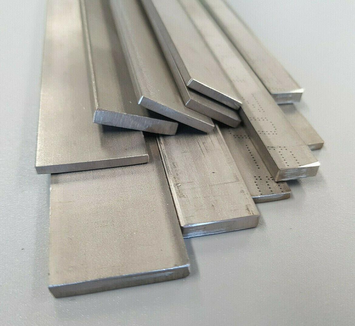 Flat Bar Stainless Steel T304 - 20, 25, 30mm Wide 3 and 5mm Thick Various Length
