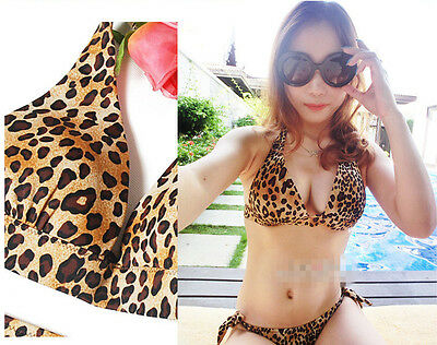 Women's Bandage Bikini Set Push-up Padded Bra Swimsuit Bathing Suit Swimwear