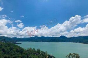 Terreno con espectacular vista  al lago en San Gaspar