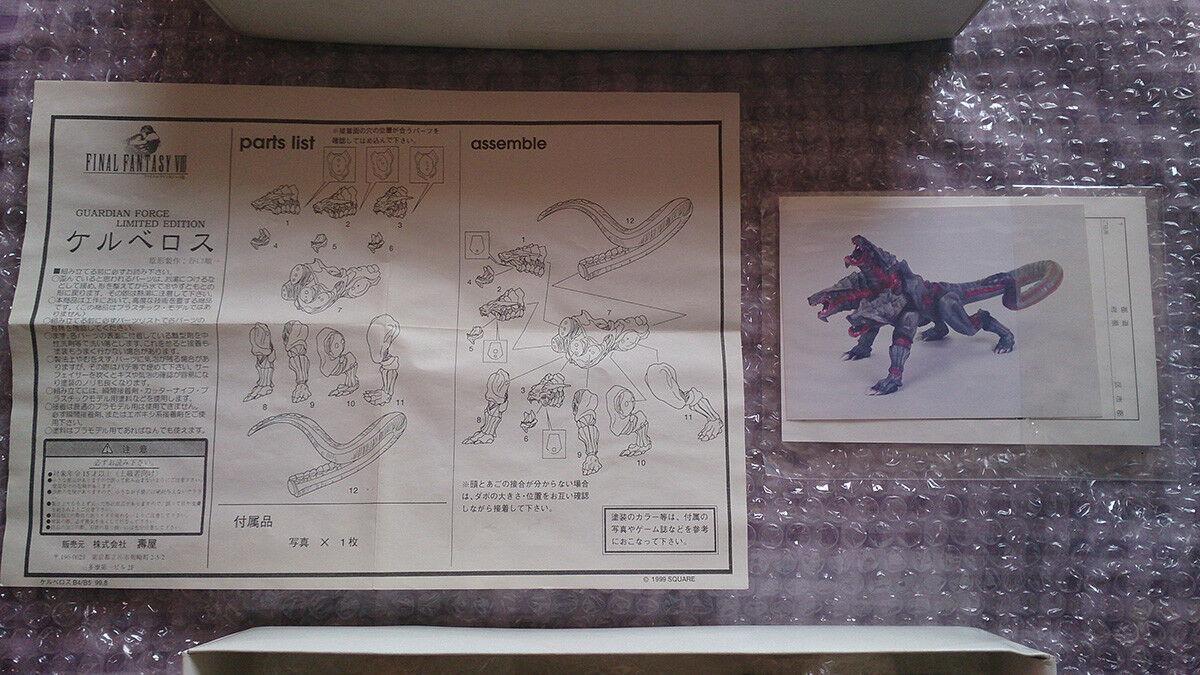 Célébrez Noël, accueillez le Nouvel An et et et re ez à la famille Final Fantasy VIII GuardianForce Cerberus (resin kit limited edition) KOTOBUKIYA 69d64d