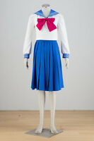 pretty soldier Sailor moon Tsukino Usagi Cosplay costume Kostüm Schul Uniform