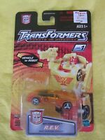 2001 Spy Changers R.e.v. Hasbro Transformers Robots In Disguise & Sealed