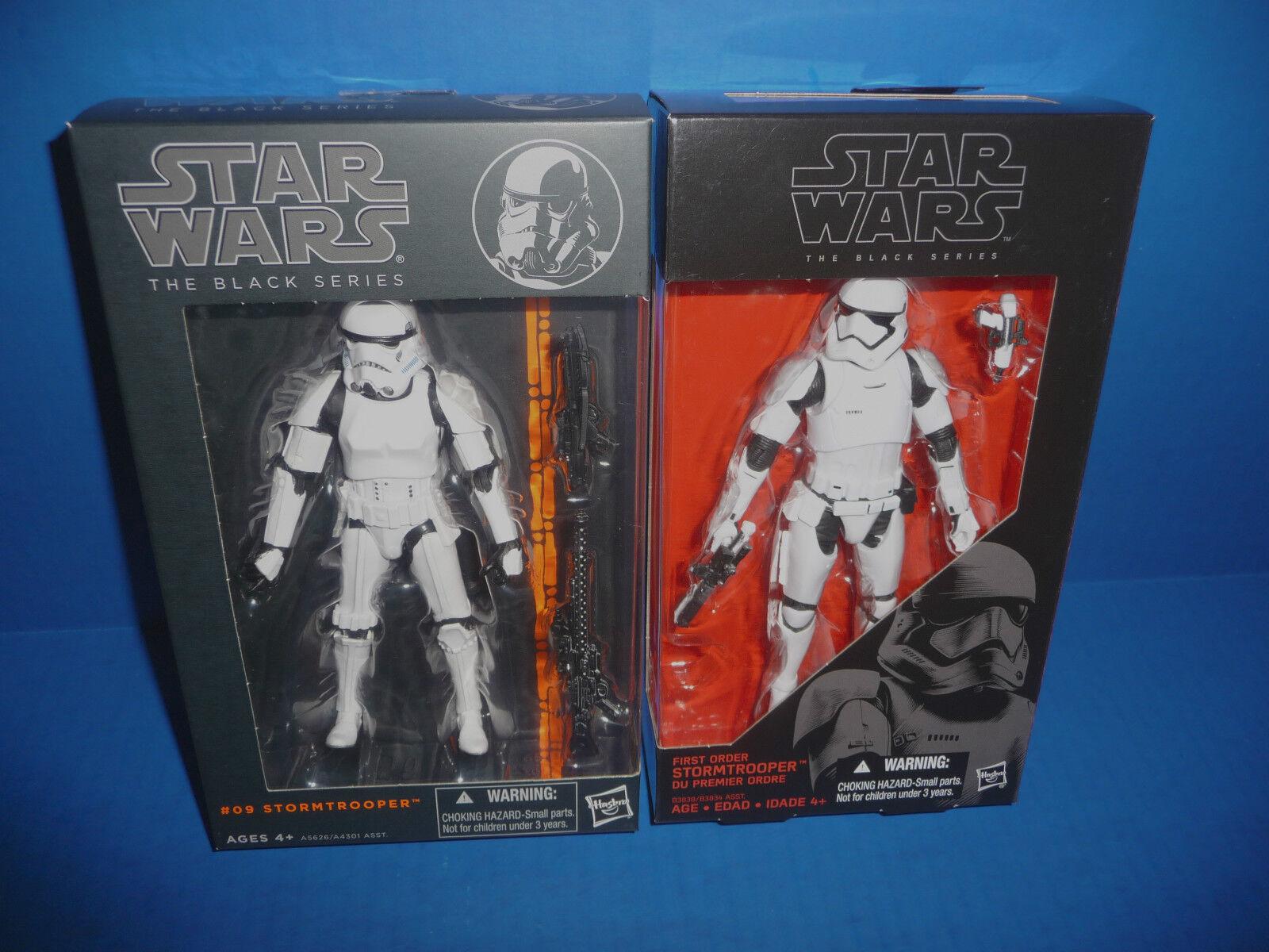 Star Wars The Force Awakens 6  Figure Stormtrooper 2 Set Original & Force Awaken