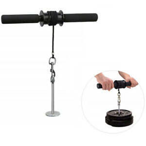 Wrist Roller Forearm Trainer Arm Strength Training Blaster Fitness Equip Gear