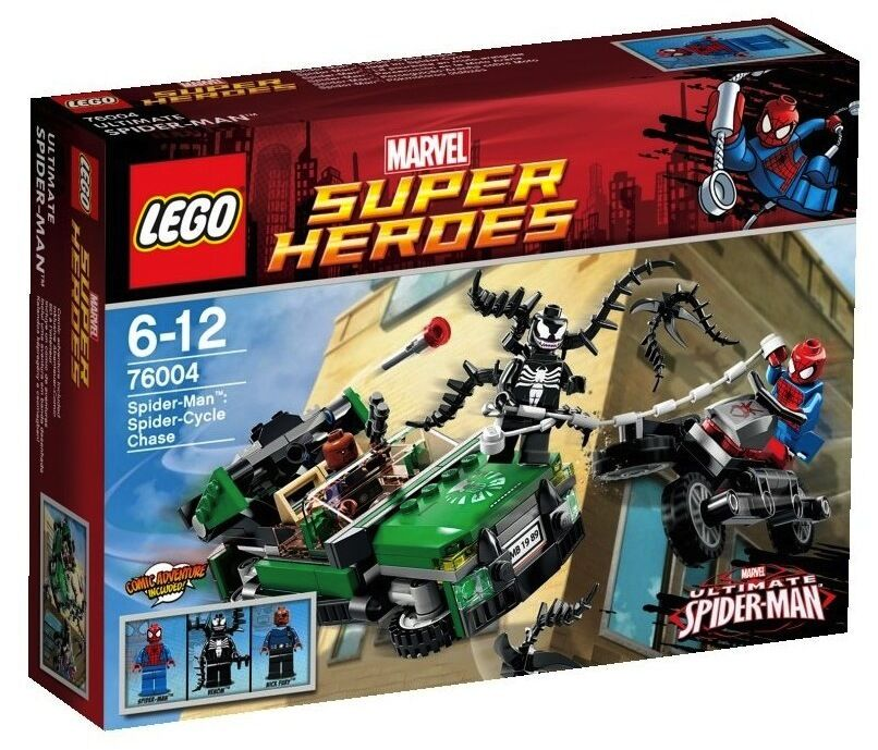 LEGO super heroes 76004 spider-Femme spider cycle Chase Chase Chase spiderFemme chasse Marvel 15d829