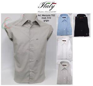 Camicia-uomo-sartoriale-italiana-collo-classico-personalizzabile-con-iniziali