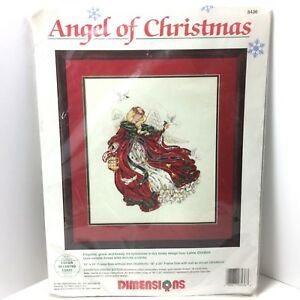 Angel Of Christmas.Details About Dimensions Angel Of Christmas Counted Cross Stitch Kit 8436 Laine Gordon New