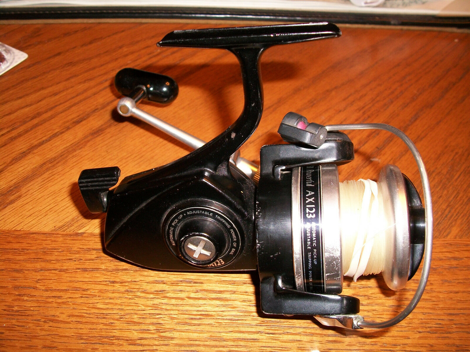 Vintage RYOBI POWERFUL AX.123 Spinning REEL Made in JAPAN