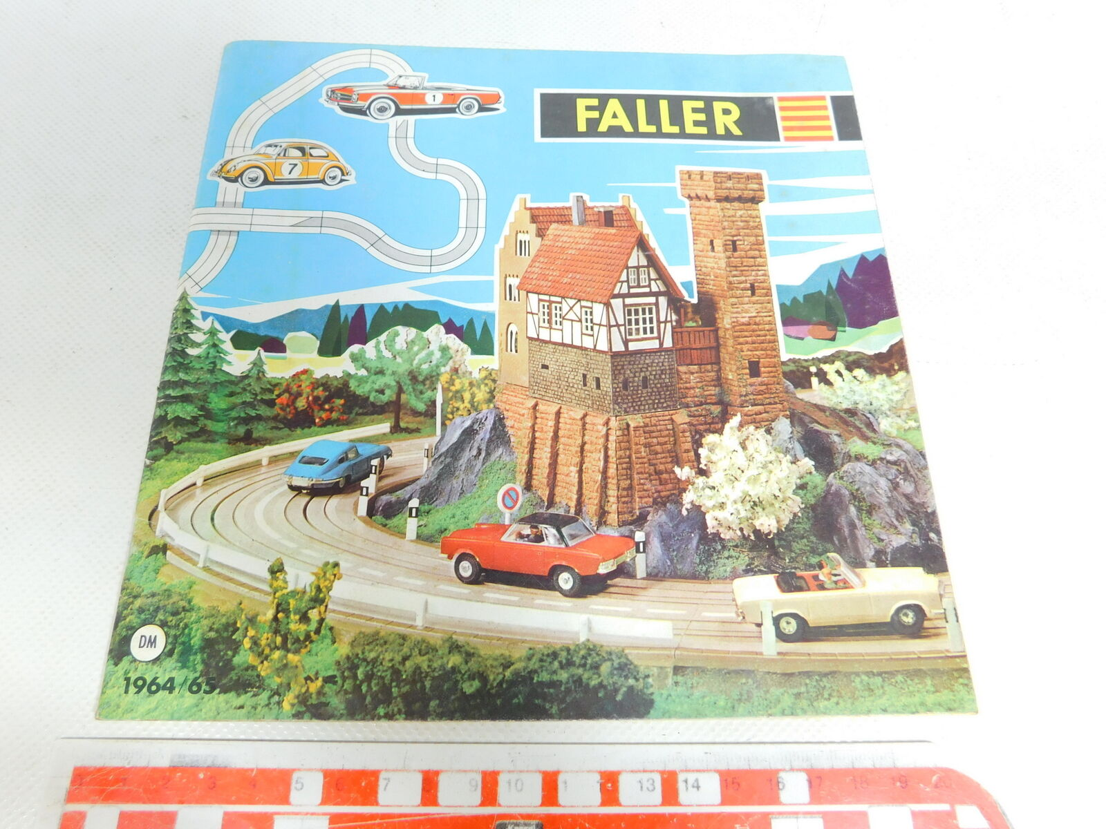 BX213-0, 5  Faller Catalogue   Year Dm 1964 65  Ams   Auto Motor Sport Etc.