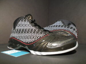 e56c198bbfb9fc 2008 Nike Air Jordan XX3 XXIII 23 BLACK RED STEALTH GREY WHITE ...