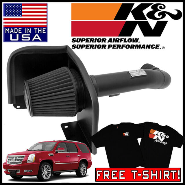 K&N Blackhawk Cold Air Intake System 2009-2014 Escalade