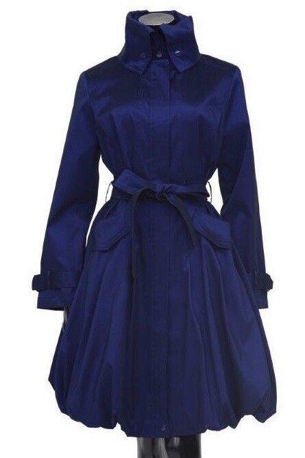 SAMUEL DONG BUBBLE COAT DRESS 11664 (Midnight bluee)