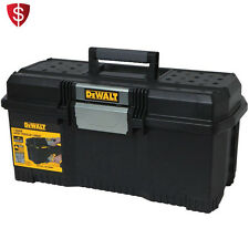 Portable Tool Box Storage Chest Organizer Tray Lockable Plastic Touch Garage