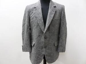 B Jacket Harris Tweed Blazer W787 40