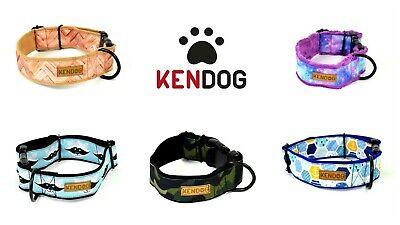Handmade dog harness guard soft neoprene padded KenDog waterproof polyester Reggae