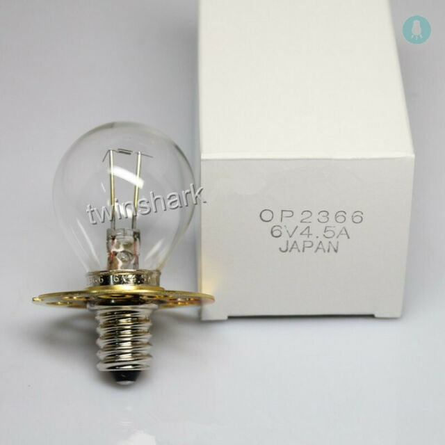 For Shin Nippon Slit Lamp Microscope Sl 302 Bulb 6v4 5a