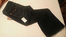 NWT Paige Premium Denim Fairfax Flap Pocket Bootcut Jeans 30 Petite Saks $215