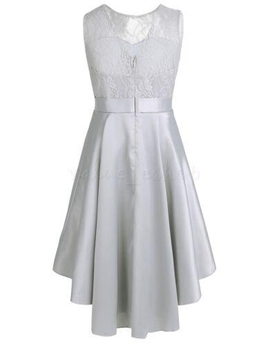 Pageant Flower Girl/'s Dress Kids Birthday Wedding Bridesmaid Gown Formal Dresses
