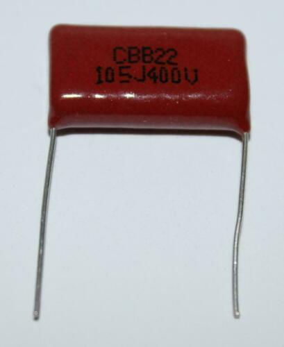CAPACITOR CBB22 400V 105J 400V 1UF PCE