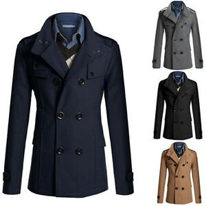 Mens-Winter-Trench-Coat-Double-Breasted-Warm-Outdoor-Long-Jacket-Formal-Overcoat