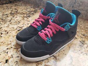 buy online 57990 83216 Image is loading Nike-Air-Jordan-4-Retro-GS-487724-019-