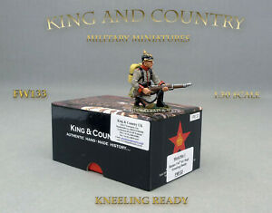 KING-AND-COUNTRY-FW133-KNEELING-READY-NEUF-NEW