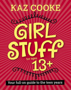NEW Girl Stuff 13+ By Kaz Cooke Paperback Free Shipping