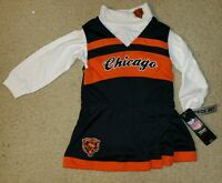 Chicago Bears Cheerleading Outfit Size 2t Nfl