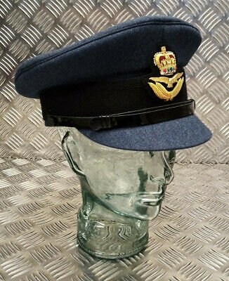 100/% Genuine British Royal Air Force RAF Officers No1 SD Dress Hat All Sizes