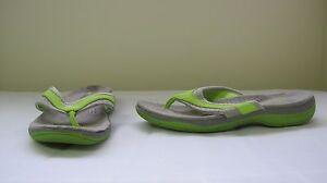 New-Women-039-s-Athletech-AVEN-Flip-Flop-Thong-Sandals-50081-Green-60P-T