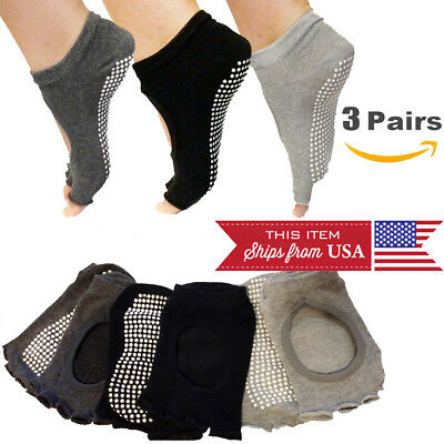 dance Super comfortable Toeless Socks-3 Pairs pedicures and more Perfect for Yoga Pilates exercise