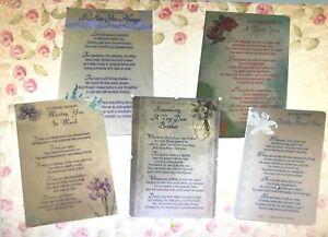 Graveside Weather Waterproof Sentiment Card Miss You Always Gran Dad Brother - Wigan, Lancashire, United Kingdom - Graveside Weather Waterproof Sentiment Card Miss You Always Gran Dad Brother - Wigan, Lancashire, United Kingdom